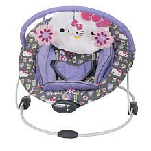 Baby Trend Flower Dance Bouncer - Hello Kitty WWW.INFANTEENIEBEENIE.COM~  THE ONLY HAT GUARANTEED TO FIT AND STAY SNUG TO ALL NEWBORNS!