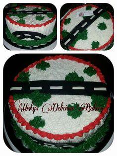 Cake motivo de car