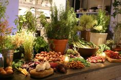 Image result for abc kitchen nyc dishes Buffet, Herb Pots, Food Displays, Charcuterie, Deli, Food Photo, Tablescapes, Brunch, Cooking Recipes