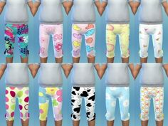 The Sims Resource: Girl Toddler Leggings 1 by Euphoria_Creations • Sims 4 Downloads