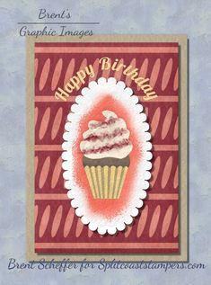 CC863 Happy Birthday Textures Patterns, Color Patterns, Happy Birthday Photos, Colorful Cakes, Pointillism, Yummy Cupcakes, Basic Grey, Petunias, Gradient Color
