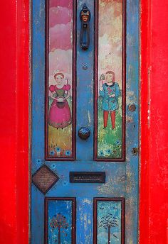 Antiques Door Portobello Road