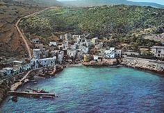 The little village in Levanzo islands, Aegadian archipelago, Sicily