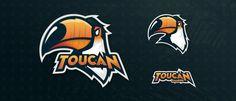 Toucan Gaming Mascot Logo.