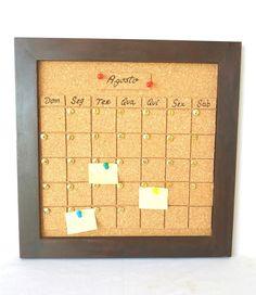Que tal um calendário permanente que nunca fica no passado? Você atualiza os…