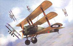 Sopwith Triplane Raymond Collishaw, by Taras Shtyk