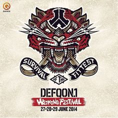 Survival of the fittest beast design DEFQON NL 2014