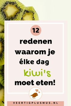 Vegan Diner, Dutch Recipes, Kiwi, Easy Healthy Recipes, Healthy Foods, Superfood, Book Quotes, Food And Drink, Health Fitness