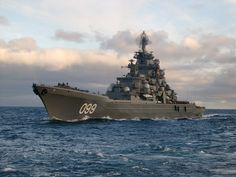 Peter the Great,Kirov class heavy nuclear powered missile cruiser