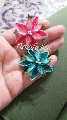 Needle Lace, Lace Flowers, Baby Knitting Patterns, Brooch, Floral, Stitches, Jewelry, Quilling, Pattern