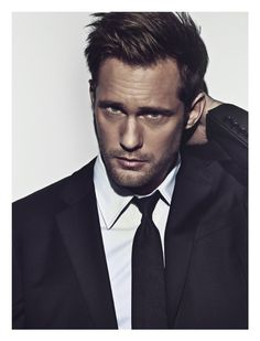 Alexander Skarsgård was my inspiration for Puck in THE BETTER TO SEE YOU. (Uncredited photo from IMDb.com)