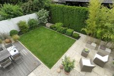 39 Amazing Townhouse Courtyard Garden Designs Best Picture For Shade Garden wh. Back Gardens, Small Gardens, Roof Gardens, Terrace Garden, Garden Beds, Ideas Terraza, Townhouse Garden, Patio Ideas Townhouse, Casa Patio