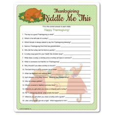 Adult Thanksgiving Games 43