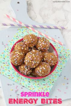 Delicious no bake energy bites packed full of nutritious ingredients, all gluten and dairy free!
