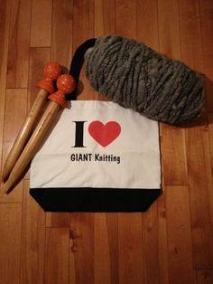 I Love GIANT Knitting!