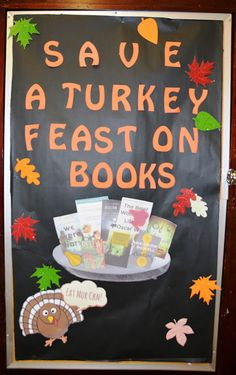 save a turkey display
