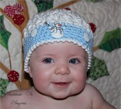 Hey, I found this really awesome Etsy listing at https://www.etsy.com/listing/114458436/crochet-baby-hat-snowball-hat-baby-girl