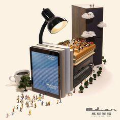Fun Miniature Dioramas By a Japanese Artist
