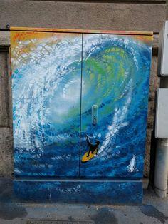 Surfing! #StreetArt