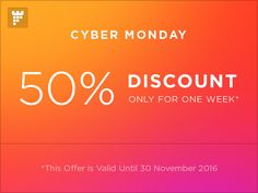 Hurry up! Cyber Monday is here, 50% Discount on our best selling items on themeforest:  https://themeforest.net/collections/6214698-cyber-monday-50-discount?ref=PixFort