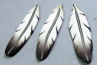 Penni Jo's cool tutorial on making two kinds of feathers...