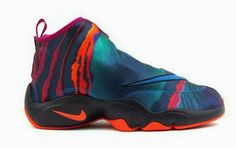 """THE SNEAKER ADDICT: Nike Zoom Flight The Glove PRM """"Green Abyss"""" Sneaker Available Now (Detailed Images)"""