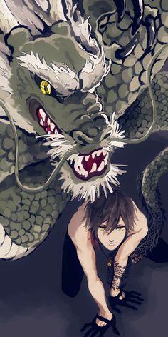 Touken Ranbou - Dragon and Boy