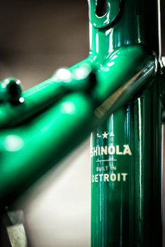 Shinola Bicycles - The Detroit-based brand picks up credibility and direction with bicycle industry designer veteran Sky Yaeger leading the way