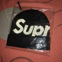 a528bc232b7 Supreme 2018 F W BIG LOGO Beanie Black Box Logo 3M New Era Rare Camp Cap Hat   fashion  clothing  shoes  accessories  mensaccessories  hats (ebay link)