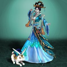 SMITE Chang´E by ArmachamCorp.@DeviantArt