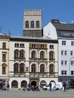 Horní náměstí (Upper Square), Olomouc, Czech Republic