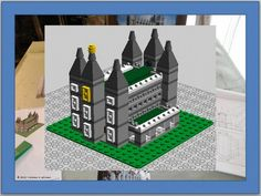 Mini Salt Lake Temple instructions for General Conference Lego fun