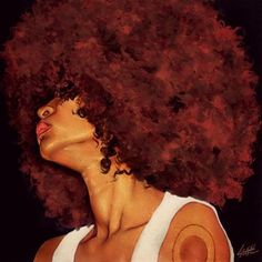 Afro art, how i want my hair to look like Black Girl Art, Black Women Art, Art Girl, Natural Hair Art, Natural Hair Styles, Pelo Afro, Black Artwork, African American Art, American Women