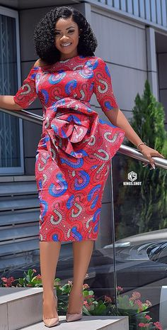 Ankara office wear dress Source by africavarsities The post Ankara dress By Zahra Delong appeared first on 2019 Trends. African Fashion Ankara, Latest African Fashion Dresses, African Dresses For Women, African Print Dresses, African Print Fashion, African Attire, Africa Fashion, African Prints, African Fabric
