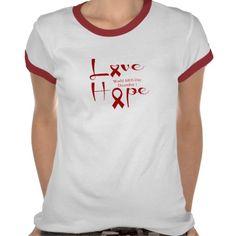 Love Hope - World AIDS Day, December 1st.