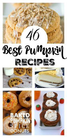 46 Best Pumpkin Recipes - A Spark of Creativity