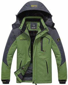 Wantdo Men's Waterproof Windproof Ski Jacket