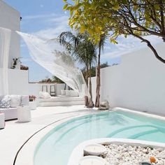 Delightful Villa Mandarina along the Costa del Sol - Terrasse Style Villa, Outdoor Spaces, Outdoor Living, Outdoor Retreat, Mini Piscina, Gazebos, Small Pools, Dream Pools, Swimming Pool Designs