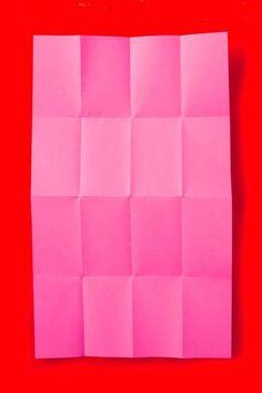pink folds