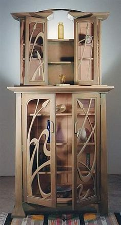 art nouveau   custom design furniture company