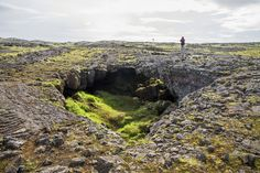 Lava Cave Iceland