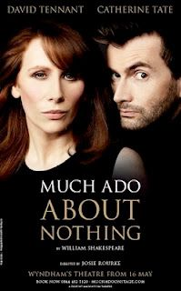 Just follow the link to watch Much Ado About Nothing. A modern take on a Shakespearean classic!! Plus it's got Catherine Tate and David Tennant...I must watch this. But later.