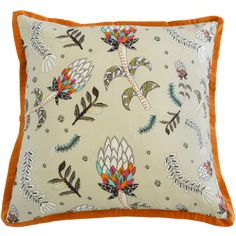 Protea Fields Kingfisher Cushion Large