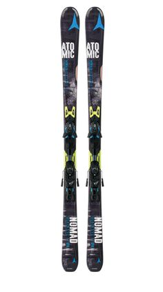 What's New From Atomic Skis For 2014/2015: Nomad Blackeye Ti (Men)