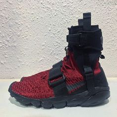 Nike Footscape Magista Flyknit Deadpool custom