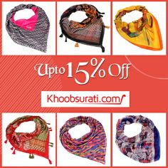 Punctuate your look with this lovely appendage and look awesome when you step –out. An ideal accessory for every day women changing her demeanor into a style icon. Flaunt it every day and transform any outfit from staid to vivacious. http://khoobsurati.com/apparels/scarves-stoles
