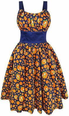 Disney Releases 2 New Dresses: Orange Bird Dress and Magic Kingdom Dress African Fashion Ankara, Latest African Fashion Dresses, African Print Fashion, Africa Fashion, Short African Dresses, African Print Dresses, Moda Afro, Bird Dress, Africa Dress
