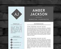 Resume template cv template mac pc professional cv black resume template cv template pc mac free cover letter us letter a4 size instant download editable word doc docx pages pronofoot35fo Gallery
