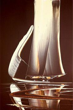 Duncan MacGregor - Burnished Seas II (large image)