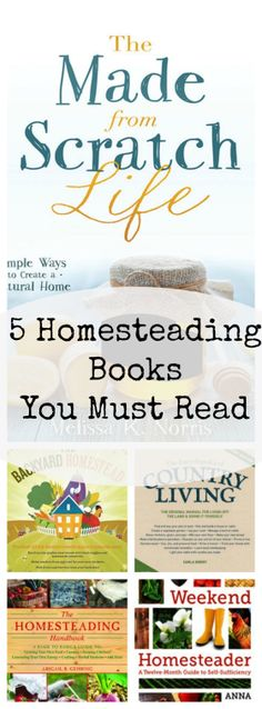 Top 5 Inspirational Homesteading Books to Read